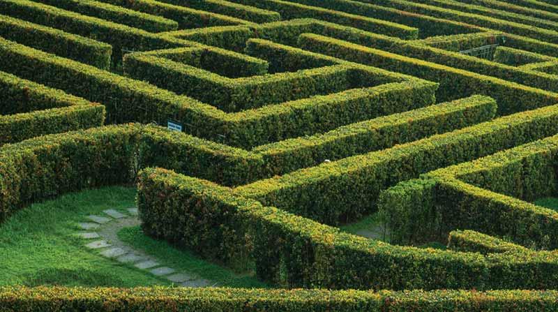 Joyville Gurgaon - Maze Garden