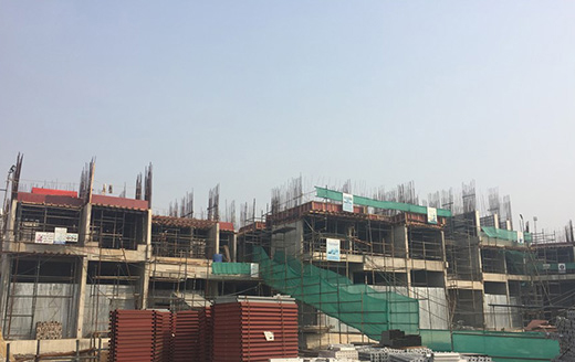 Joyville Gurgaon - Tower 1 - Basement Roof Slab Completed | Ground Floor Roof Slab In Progress as on Jan 2020