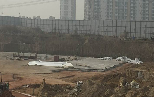 Joyville Gurgaon - Tower 10 - Excavation Completed | PCC In Progress as on Jan 2020