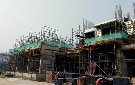 Joyville Gurgaon - Tower 3 - Basement roof slab completed | Ground Floor Roof Slab In Progress as on Jan 2020