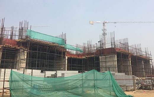 Joyville Gurgaon - Tower 4 - Basement Roof Slab In Progress as on Jan 2020