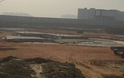 Joyville Gurgaon - Tower 5 - Excavation Completed | PCC In Progress as on Jan 2020