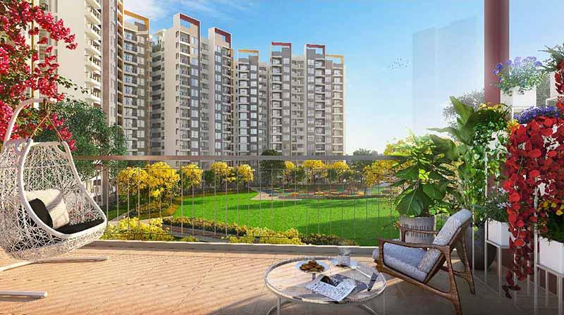 Joyville Gurgaon - Elevation View From Balcony