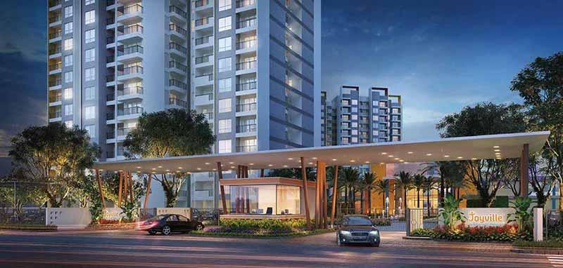 Joyville Gurgaon - Grand Entrance