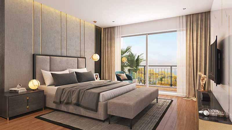 Joyville Gurgaon - Guest Bedroom