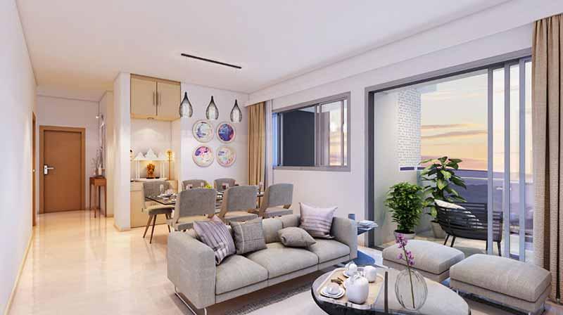 Joyville Gurgaon - Living Room