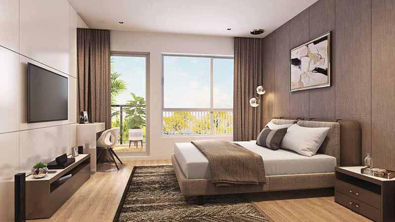 Joyville Gurgaon - Master Bedroom