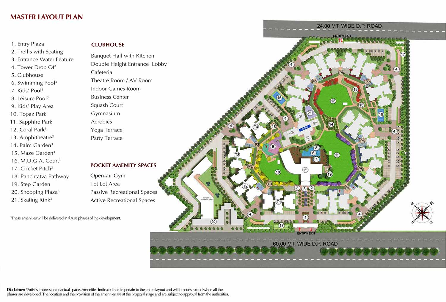 Master Plan - joyville Gurgaon Phase 3
